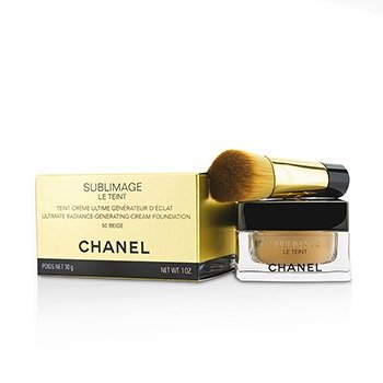 Chanel Rozjasňujúci krémový make-up Sublimage Le Teint Ultimate Radiance Generating Cream Foundation 50 Beige 30 g
