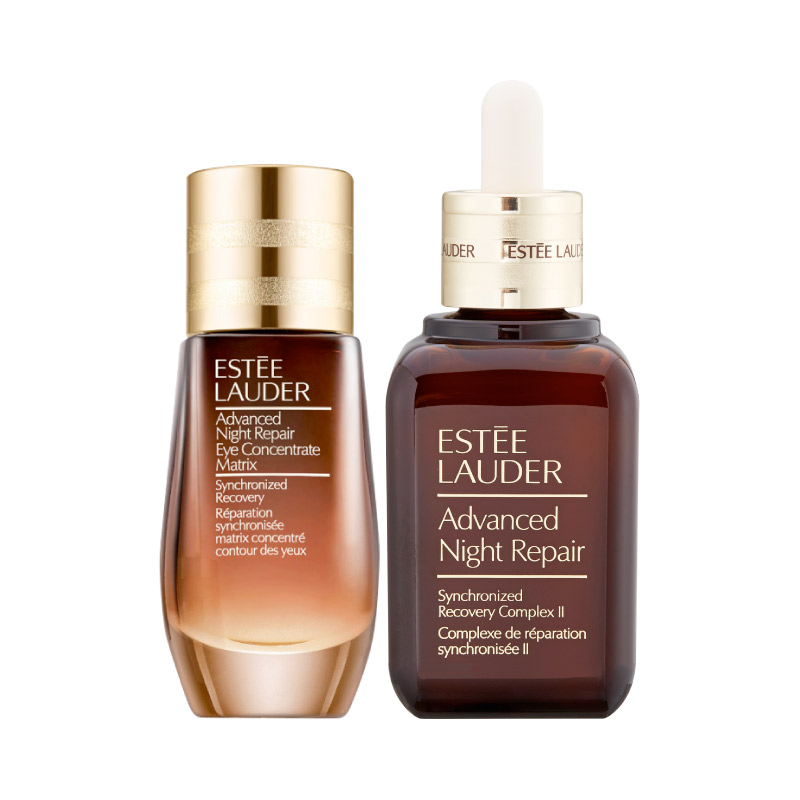 Estée Lauder Advanced Night Repair Synchro Recovery 50 ml sada pleťové sérum 50 ml + péče o oční okolí Advanced Night Repair Eye Concentrate Matrix 15 ml pro ženy