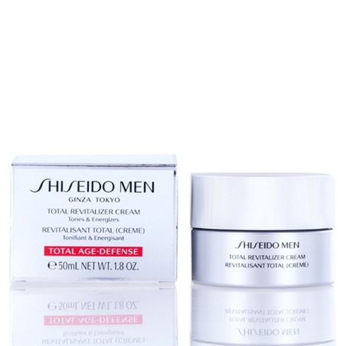 Shiseido Men revitalizačný krém pre mužov (Age-Defense Anti-Fatigue Cream) 50 ml